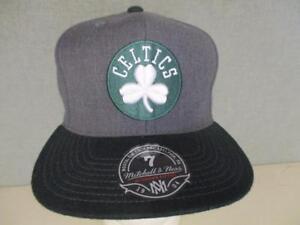 NEW Boston Celtics Adult Mens NEW ERA Size 7 1/8-1/4-3/8-1/2 Flatbrim Hat