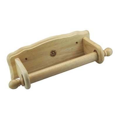 Da Cucina In Legno Carta Asciugamano Rotolo Di Supporto Rack Dispenser Parete Panno Storage-