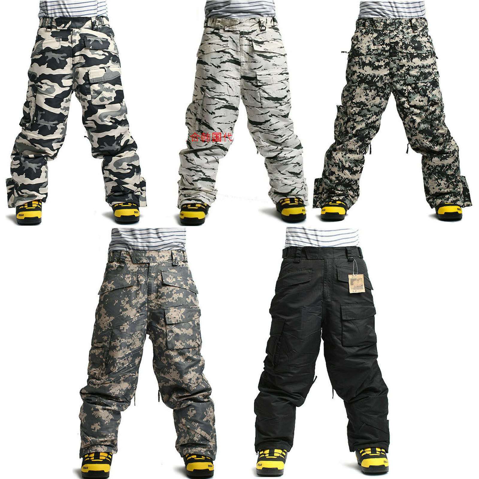 New Southplay  Mens Winter Premium Military Ski-Snowboard Pants Or Denim Pants  clients first reputation first
