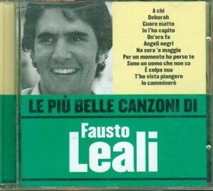 Fausto-Leali-Le-Piu-039-Belle-Canzoni-Di-Fausto-Cd-Eccellente