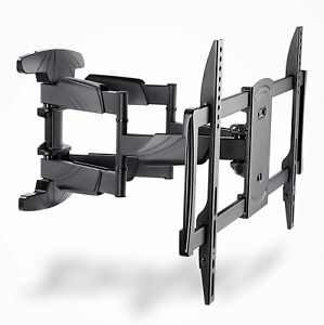 ibra ultra slim tilt swivel tv wall bracket mount for 32 65 inch led lcd ebay. Black Bedroom Furniture Sets. Home Design Ideas