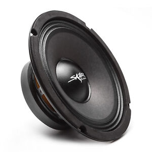 NEW-SKAR-AUDIO-FSX8-8-350-WATT-SINGLE-8-INCH-8-OHM-MID-RANGE-LOUDSPEAKER