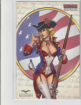 Realm War #2 Cover F Zenescope Comic Variant Baltimore Exclusive Dooney NM LE350