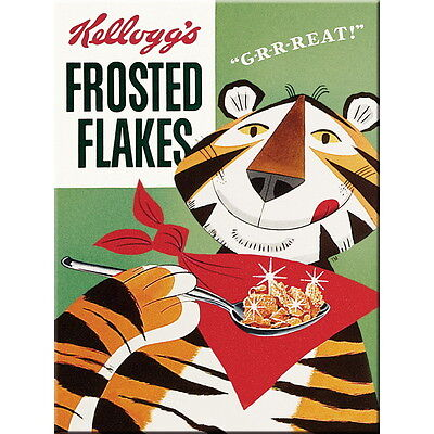 NOSTALGIE - MAGNET, Motiv: KELLOGG'S Tony Tiger Cornflakes NEU OVP