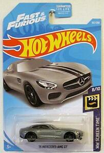 Mattel-Hot-Wheels-039-15-Mercedes-AMG-GT-Nuevo-Sellado