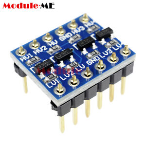 10pcs 4 Channel IIC I2C Logic Level Converter Bi-Directional Module 5V to 3.3V