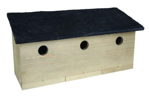 Ernest Charles Sparrow Colony Wooden Bird Nesting Box by Gardman Wild Bird Care