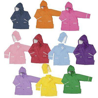 Kinder Regenjacke Neu Auswahl Farben Gr 80-140