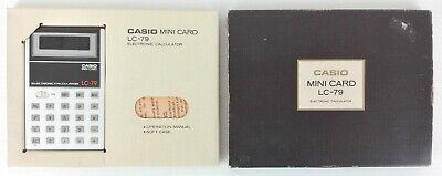 CASIO IR-40 ORIGINALE Rullo Inchiostro x Calcolatrici NERO *Sped Tracciata*