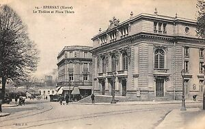 BF2963-epernay-marne-le-theatre-et-place-thiers-france