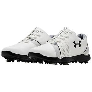 Under Armour Junior Spieth 3 Golf Shoes Childrens Boys Kids Spiked Cleats Ebay
