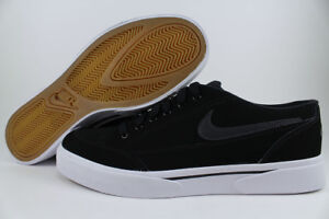 best website e8391 8e647 Image is loading NIKE-GTS-039-16-NUBUCK-SMOOTH-LEATHER-BLACK-