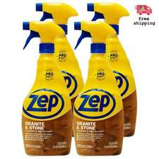 Zep Granite And Stone Bath Kitchen Spray Cleaner And Protectant 32 Oz Case Of 4