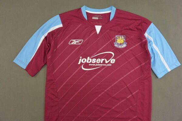 2005-07 Reebok West Ham United WHU HAMMERS Home Shirt SIZE XL eb1ae917f