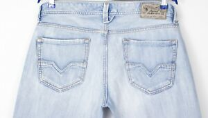 Diesel-Hommes-Larkee-Jeans-Jambe-Droite-Taille-W34-L29-AHZ41