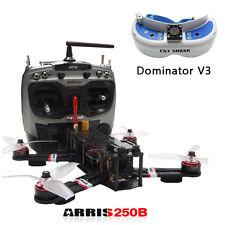ARRIS X-Speed 250B V3 FPV Racing Drone RTF + Fatshark Dominator V3 FPV Goggle