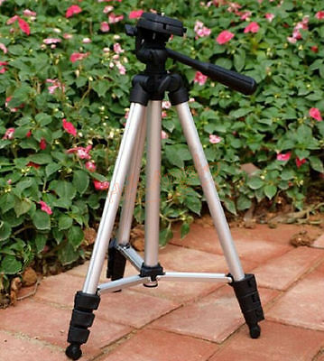 Portable Universal Flexible Telescopic 4 Sections Camera Tripod Stand Holder