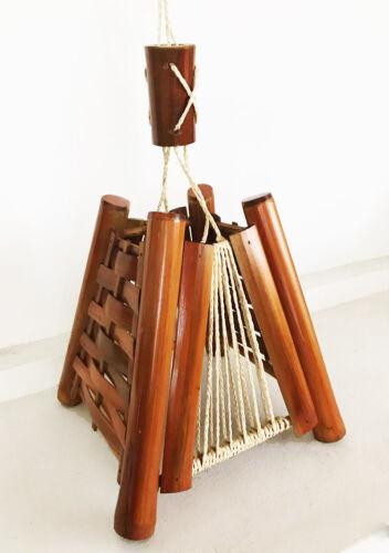 Handmade Artisanal Bamboo Hanging Lamp Shade