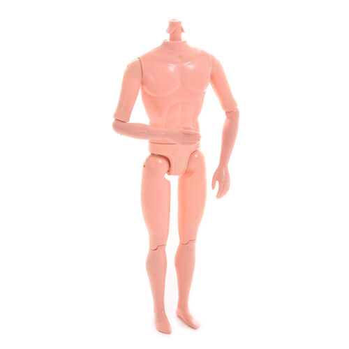 Fashion Dolls Toys for Girls Arm Waist Joints Moveable Naked Male Body*