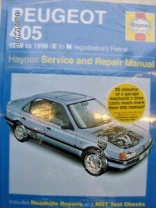 peugeot 405 workshop manual ebay rh ebay ie Peugeot 406 Peugeot 505