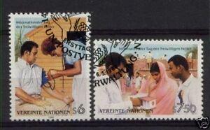 United-Nations-Vienna-1988-Volunteer-Day-Used-Set