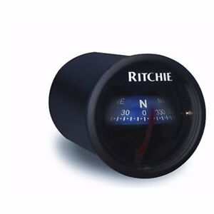 RitchieSport X-21WW Dash Mount Compass Designer White MD