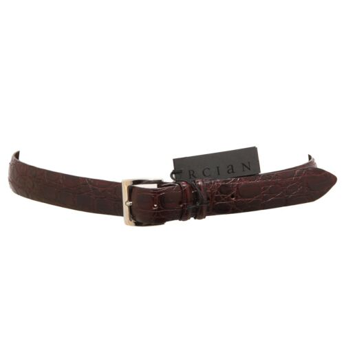 3484Q cintura uomo ORCIANI marrone hand made belt men