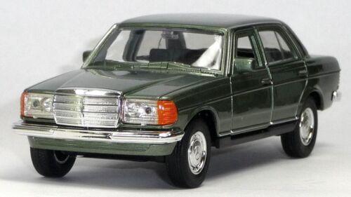 1:37//12cm artículo nuevo Welly Mercedes Benz w123 verde claro metalizado modelo de coleccionista aprox