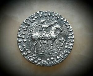 30 BC - 5 AD - AZES 1ST ONE OF THE 3 WISE MEN OF THE BIBLE - SILVER TETRADRACHM