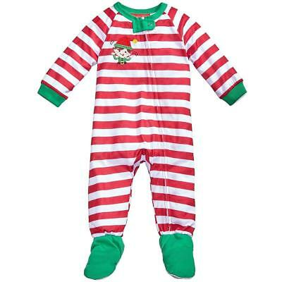 NWT Baby Gap White Holiday Symbol FOOTED SLEEPER Infant 12-18 mo OR Toddler 2T
