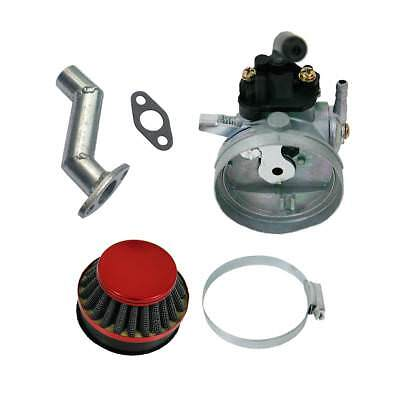 Fit 49cc//80cc Motorized Bike Red Performance Racing Carburetor Manifold Kit