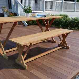 vidaXL-Solid-Teak-Outdoor-Bench-120x35x45cm-Garden-Dining-Park-Seat-Furniture