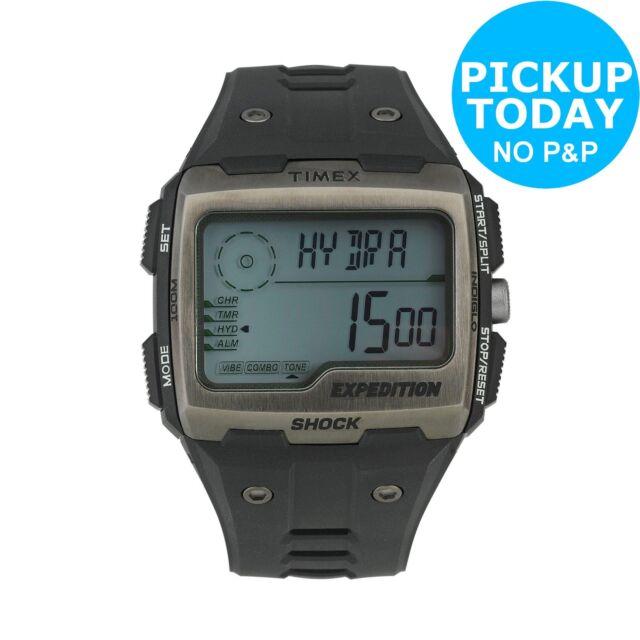 Timex Men's Expedition Grid Shock Digital Strap Watch.