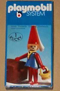 Système Klicky Playmobil Vintage des années 70 3336 Knights Castle jeune fille Misb Storestock