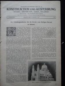 1927-Brussel-Kirche-vom-Heiligen-Herzen-Sacre-Coeur