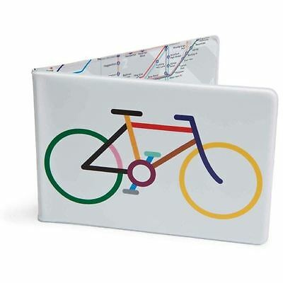 Tube Map Bicycle Oyster Card Travel Wallet London Underground