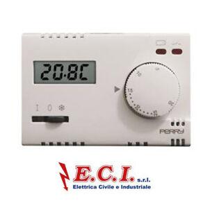 PERRY 1TI TE312//MC TERMOSTATO ELETTRONICO 230V EST//OFF//ANT
