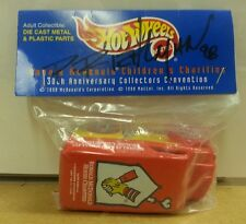 RARE Hot Wheels 1998 Collectors Convention Ronald McDonald House SIGNED 1:64