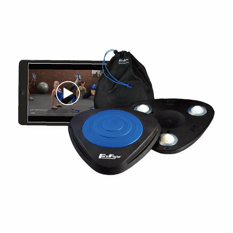 Flyte Fitness par de núcleo Flyte Pro V3 entrenadores de estabilidad dinámica, Negro Y Azul