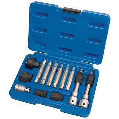 1x 13 Piece Draper Alternator Pulley Tool Kit - 31913
