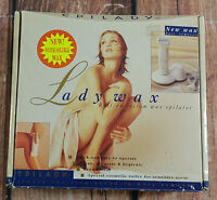 Epilady Lady Wax Roll-on System Wax Epilator Rechargeable Hair Removal Kit