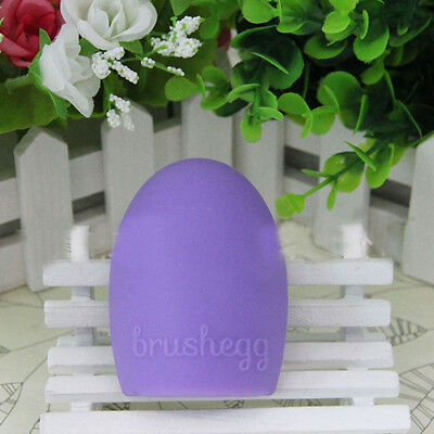 Cosmetic Brushegg Washing Clean Brush Tool Cleaners Silicone Glove Scrubber