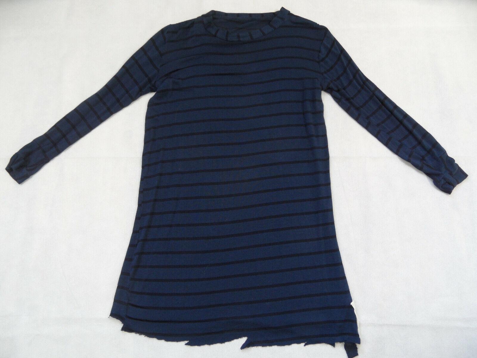 Wonderous Wonderous Wonderous la obra elegante larga camisa azul top je319 741f65