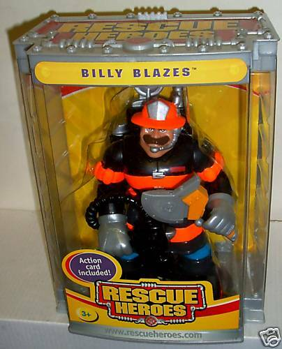NRFB Fisher Fisher Fisher Price Rescue Heroes Billy Blazes Figure e299f8