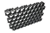 40RLG Paddockplatten Rasengitter Gehwegplatten Kunststoff Rasenwaben 60x40x4 cm