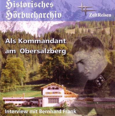 Unter Der Voraussetzung Als Kommandant Am Obersalzberg (cd) Bernhard Frank Gutes Renommee Auf Der Ganzen Welt