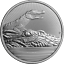 2-OZ-Crocodile-amp-Baby-Next-Generation-Piedfort-Australia-999-Silver-IN-CAPSULE miniature 1