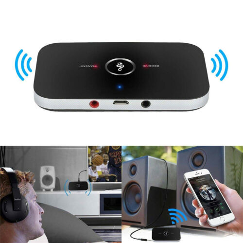 2-In-1 Home TV Wireless Bluetooth Transmitter And Receiver Adapter