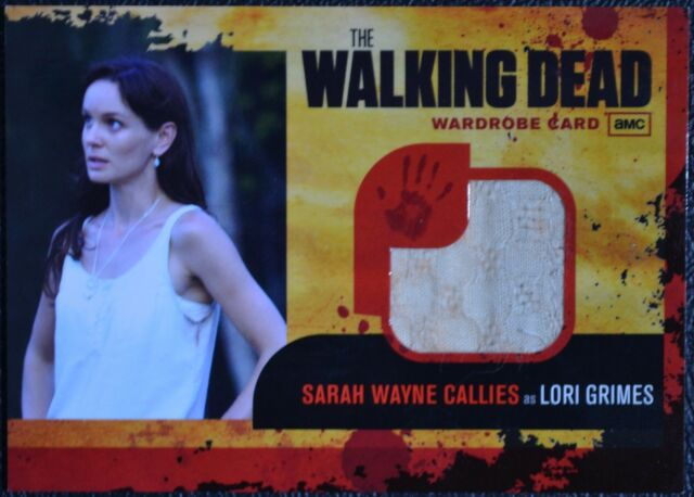Walking Dead Season 1 M2 THICK SEAM VARIANT Lori Grimes Wardrobe Trading Card