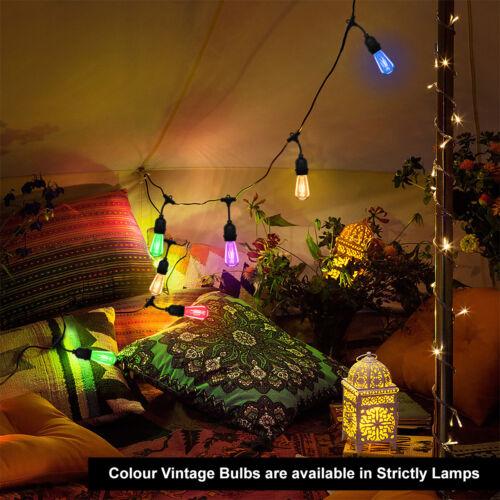 15M Outdoor IP64 Garden Trees Party Celebration LED FAIRY STRING FESTOON LIGHTS